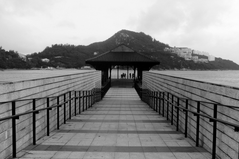 Waterfront in Stanley. Hong Kong
