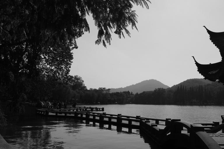 Pagodas and paths. West Lake, Hangzhou, China