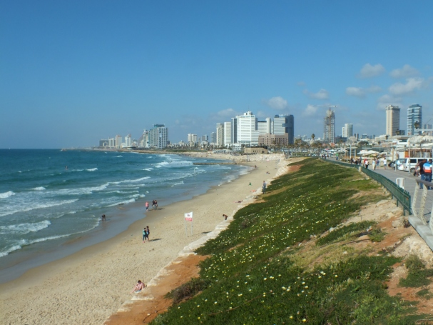 Tel Aviv, pictured from Jaffa, 2014