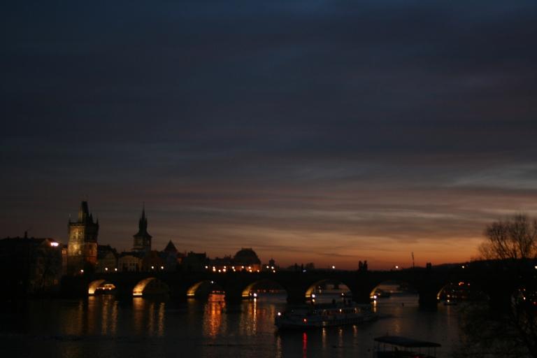 Prague and the Vltava river, Czech Republic