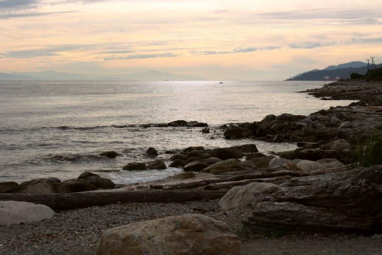 West Vancouver's shoreline, Canada