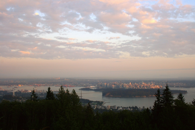 Downtown Vancouver from above, Canada